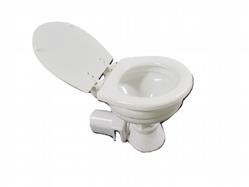12V Electric Marine Toilet - Compact Boat Yacht RV Motorhome